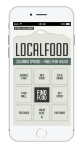 LocalFood CS Mobile App