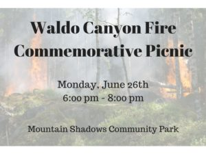 Waldo Canyon Fire Commemorative Picnic