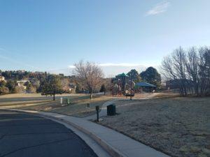 Pinecliff Park in Northwest Colorado Springs