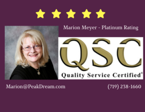 Marion Meyer Realtor - QSC Platinum Rating