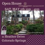 11 Heather Drive Open House Saturday May 5th 1pm-4pm
