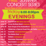 Free summer concert series at UVC