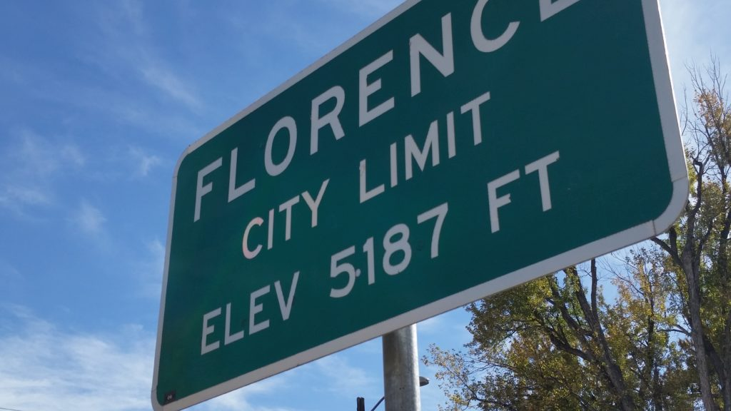 Florence, CO in Fremont County