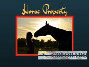 Horse Property Colorado