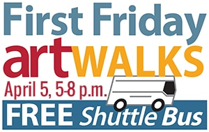 First Friday Shuttle Bus