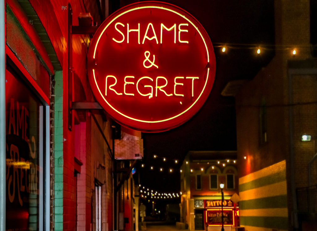 Shame & Regret Speakeasy