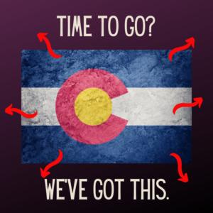 Leaving Colorado?