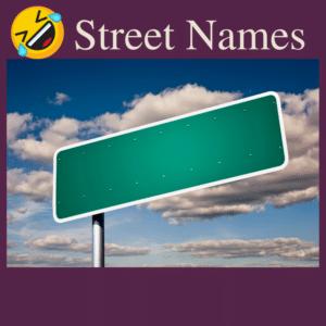 Funny Colorado Springs Street Names
