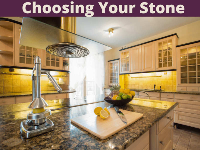 Choosing stone countertops for your home