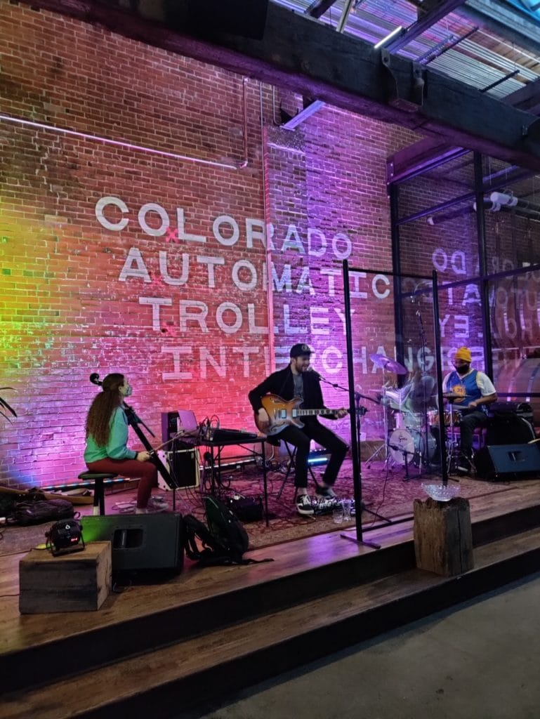 CO.a.t.i is a food hall and venue in Downtown Colorado Springs Trolley District